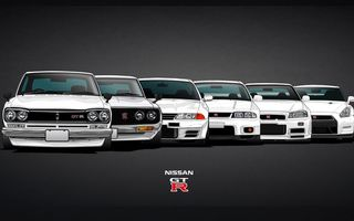 Обои C10, GTR, Эволюция, Coupe, Skyline, GT-R, R32, Evolution, Car, Машина, R33, KPGC10, R34, Nissan, R35, Скай, Ниссан, C110, Скайлайн, 2000