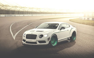 Картинка Bentley, art, арт, HansenART, white, by ilPoli, Hansen Art, континенталь, GT3-R, белый, Continental, бентли, Race Pack, race car