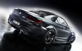 Картинка BMW, Prior Design, Rear, M6, Car, Black, Wheels