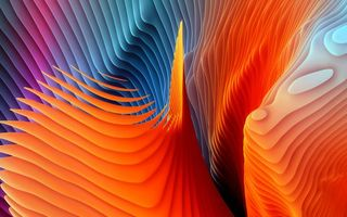 Картинка colors, digital art, colorful, color artwork, Abstract, shape, rendering