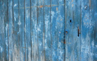 Обои wood, blue, pattern, door