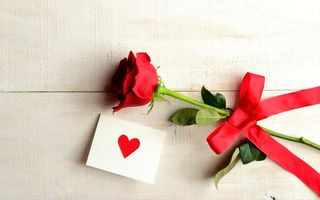 Обои heart, love, flower, любовь, rose, сердце, I love you, роза, праздник, holiday, цветок