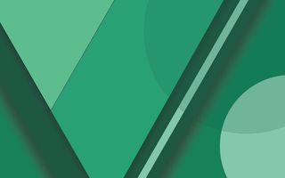 Картинка Android, Material, Lines, 5.0, Green, Lollipop, Design, Abstractions, Circles