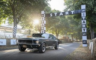 Картинка Ford, Goodwood, 1968, 2018, Fastback, Bullitt, Mustang GT