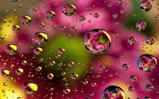 Картинка abstract, floral, colors, bubbles, пузыри, абстракция, colorful