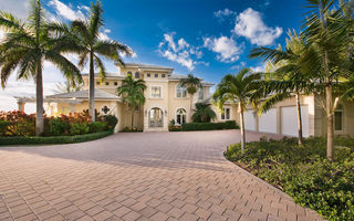 Картинка bahamas, home, house, villa, luxury, palm