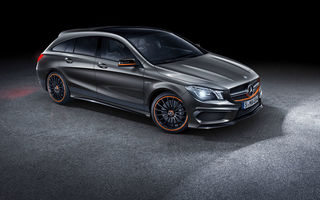 Обои 2015, X117, Mercedes, Shooting Brake, мерседес, Orange Art, амг, CLA 45, AMG