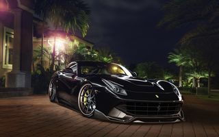 Картинка Ferrari, Capristo, F12, Wheels, ADV.1, Systems, Exhaust, GmbH, Boutique, Front, Berlinetta