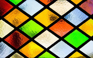 Обои stained, mosaic, стекло, витраж, glass, window, окно, colorful