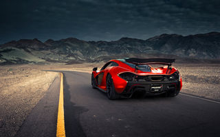 Обои McLaren, Valley, Hypercar, Terrestrial, Road, Supercar, Exotic, Extra, P1, Orange, Volcano, Spoiler, Rear, Death, Front, Sand