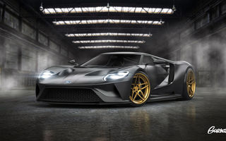 Обои Ford, Color, ADV.1, GT, Grey, Tuning, Wheels, by Gurnade