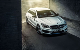 Обои 2015, амг, UK-spec, X117, CLA 45, Mercedes, мерседес, Shooting Brake, AMG