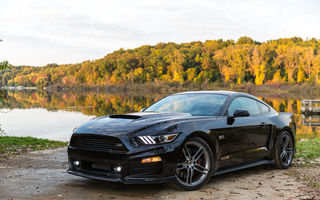 Обои 2014, Ford, форд, Roush Stage 2, Mustang, мустанг