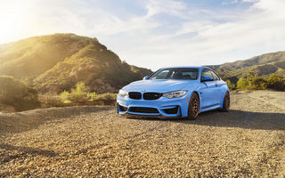 Обои bmw m4, car, blue