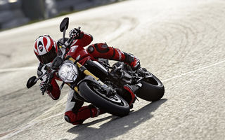 Обои Ducati, speed, ride, Legend, red, Monster, road, classic, bike, moto