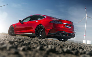 Обои Tesla, Elizabeta, Larte Design, tuning, Model S