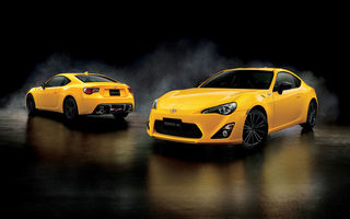 Обои 2015, Toyota, тойота, Yellow Limited Aero Package, 86 GT