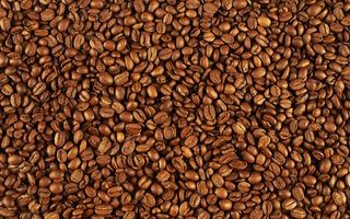 Обои coffee beans, pattern, many