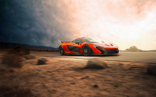 Обои McLaren, Speed, Supercar, Car, P1, Beauty, Front, Orange