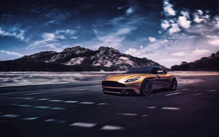 Обои Aston Martin, Light, DB11, Supercar, Concept, Front