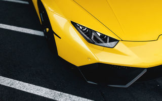 Обои Lamborghini, Huracan, Wheels, Supercar, Yellow, LP610-4, Front