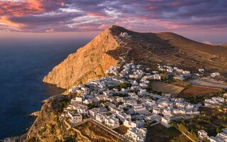 Обои island, Folégandros, South Aegean, Greece