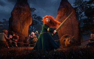 Картинка film, pixar, red hair, bear, pixar, the movie, brave