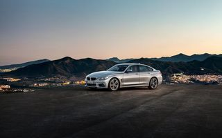 Обои БМВ 4, BMW 4 Series, 2015, Gran Coupe