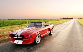 Картинка Ford Mustang Shelby GT500 Convertible