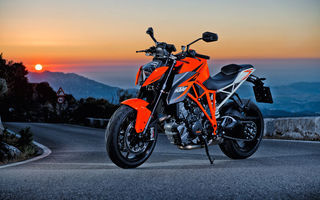 Обои закат, мотоцикл, KTM 1290 Super Duke R, sunset, motorcycle, bike, KTM