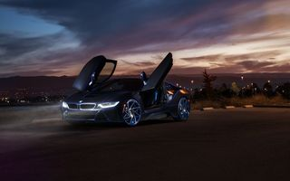 Обои BMW, Front, Doors, Customs, Aristo, i8, Collection, SS, Car