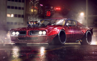 Картинка Dodge, Artwork, Charger