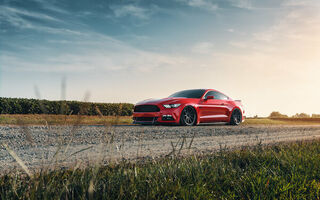 Обои Ford, Mustang, Red, GT