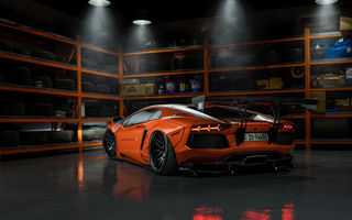 Обои Orange, Lamborghini