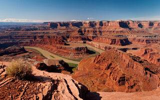 Картинка Colorado, Природа, National Park, Canyonlands, River, Каньон