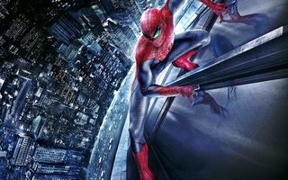 Картинка car, The amazing, Spider man, building
