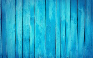 Обои wall, wood, blue