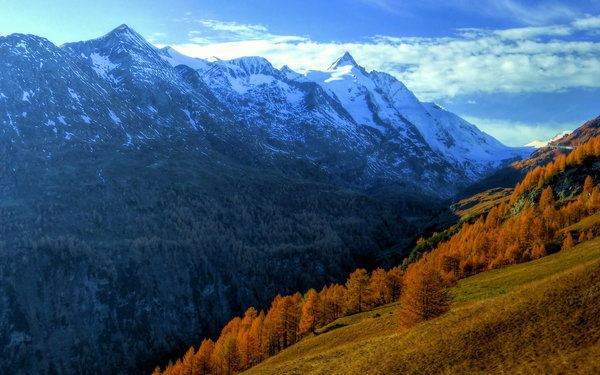 Обои autumn, mountain, Austrian Central Alps
