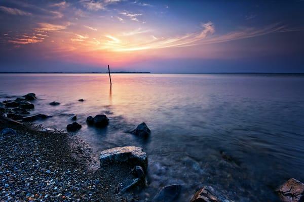 камни озеро сумерки бесплатно