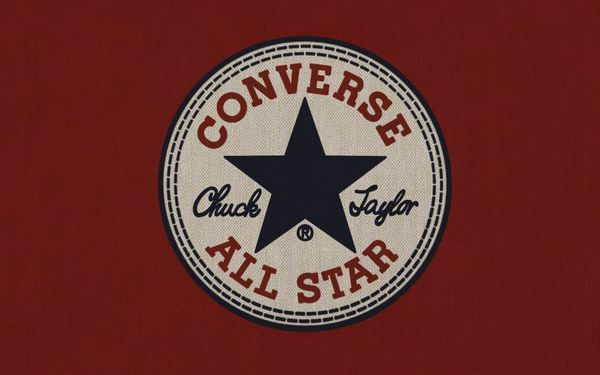 Обои converse, shoes, company, minimalistic, sneakers, all star, brand, logos