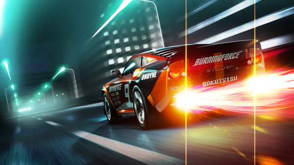 Обои Ridge Racer 3D, racing, game