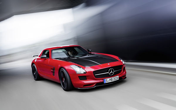 Обои Mercedes-Benz, 63, GT, red, Final Edition, AMG, SLS, C197