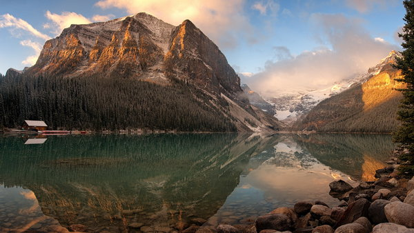 Обои Lake Louise, Banff National Park, Canadian Rockies