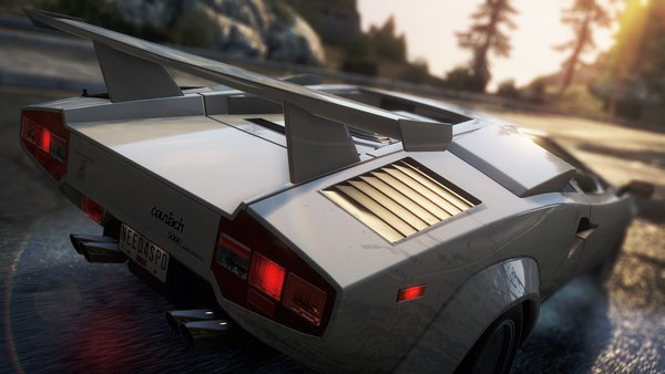 Обои need for speed most wanted 2, Lamborghini Countach QV5000, классика, спорткар