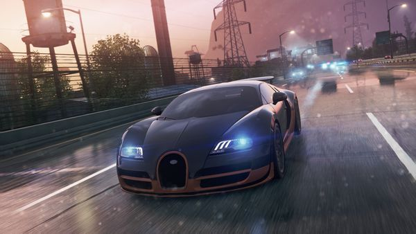 Обои Need for speed, Most wanted, Bugatti Veyron Super Sport, 2012