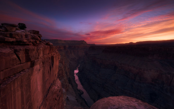 Обои grand canyon, usa, arizona, rock, torowep, sunset