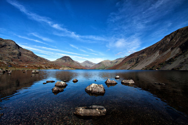 Обои lake, Wastwater, Англия, Lake District, Cumbria, озеро, England