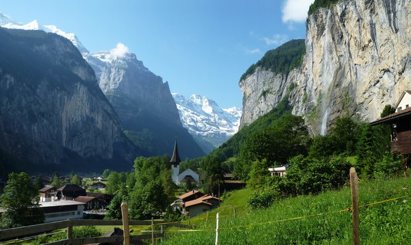 Обои Switzerland, muntains, Lauterbrunnen, Bern