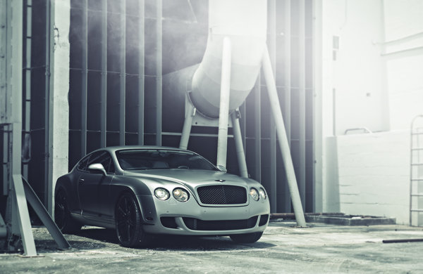 Обои bentley, continental, матовый