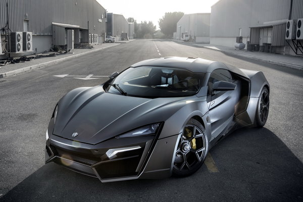 Обои суперкар, w-motors, hypersport, lykan